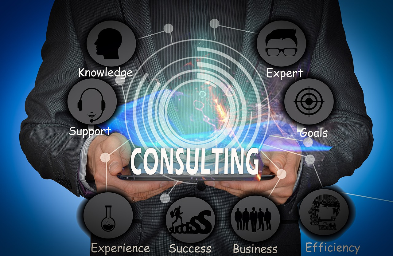 Businessman Consulting Business